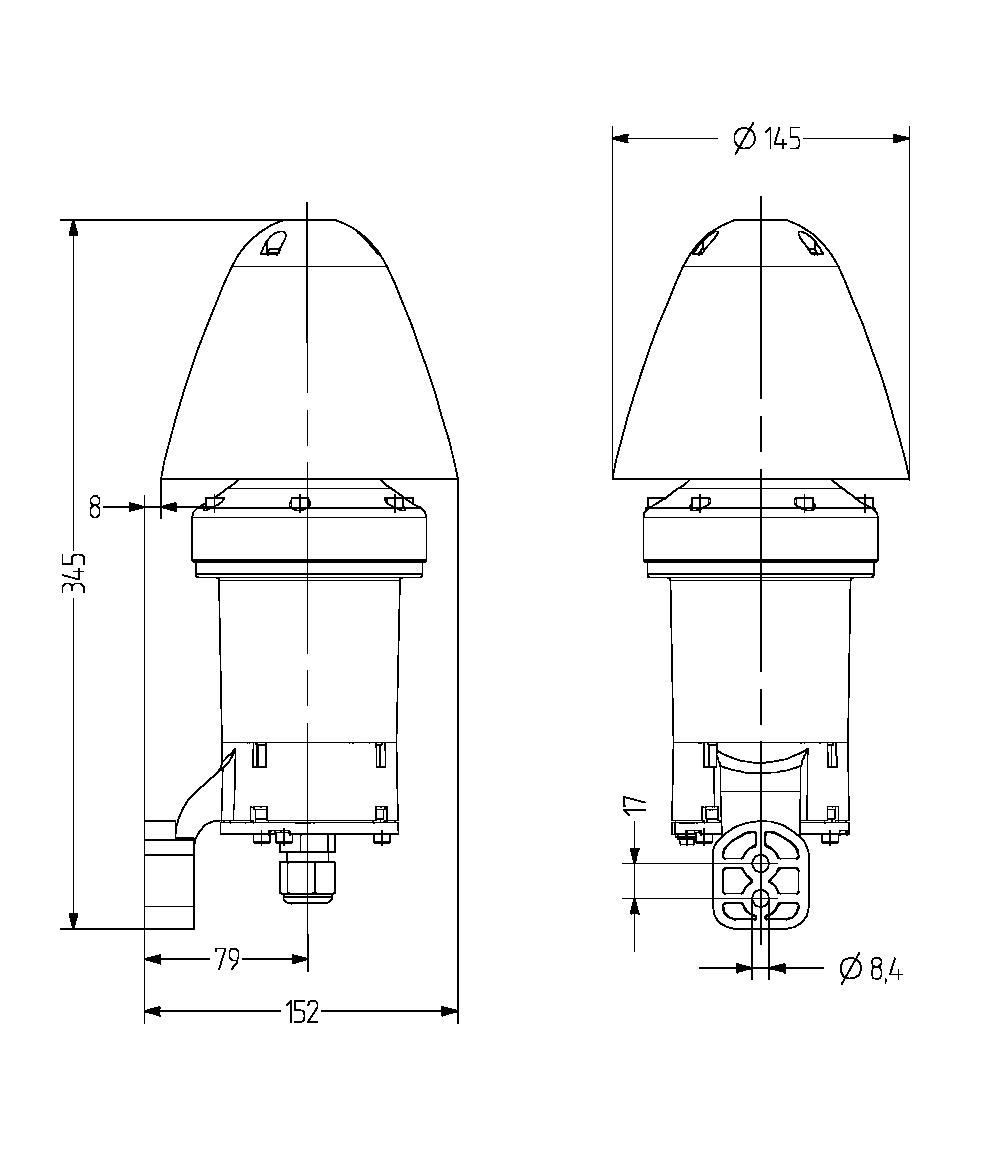 dMS взрывозащищенный многотональный сигнализатор