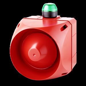 ADX многотональная сирена со встроенным светодиодным индикатором