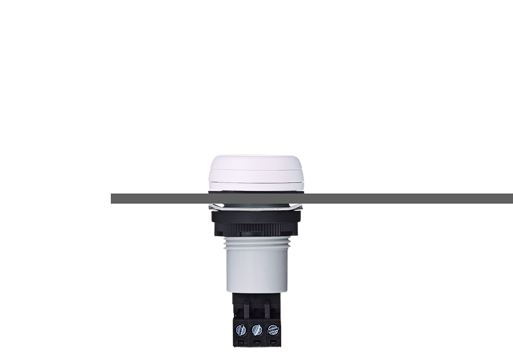 ESK звуковой сигнализатор с креплением на панели