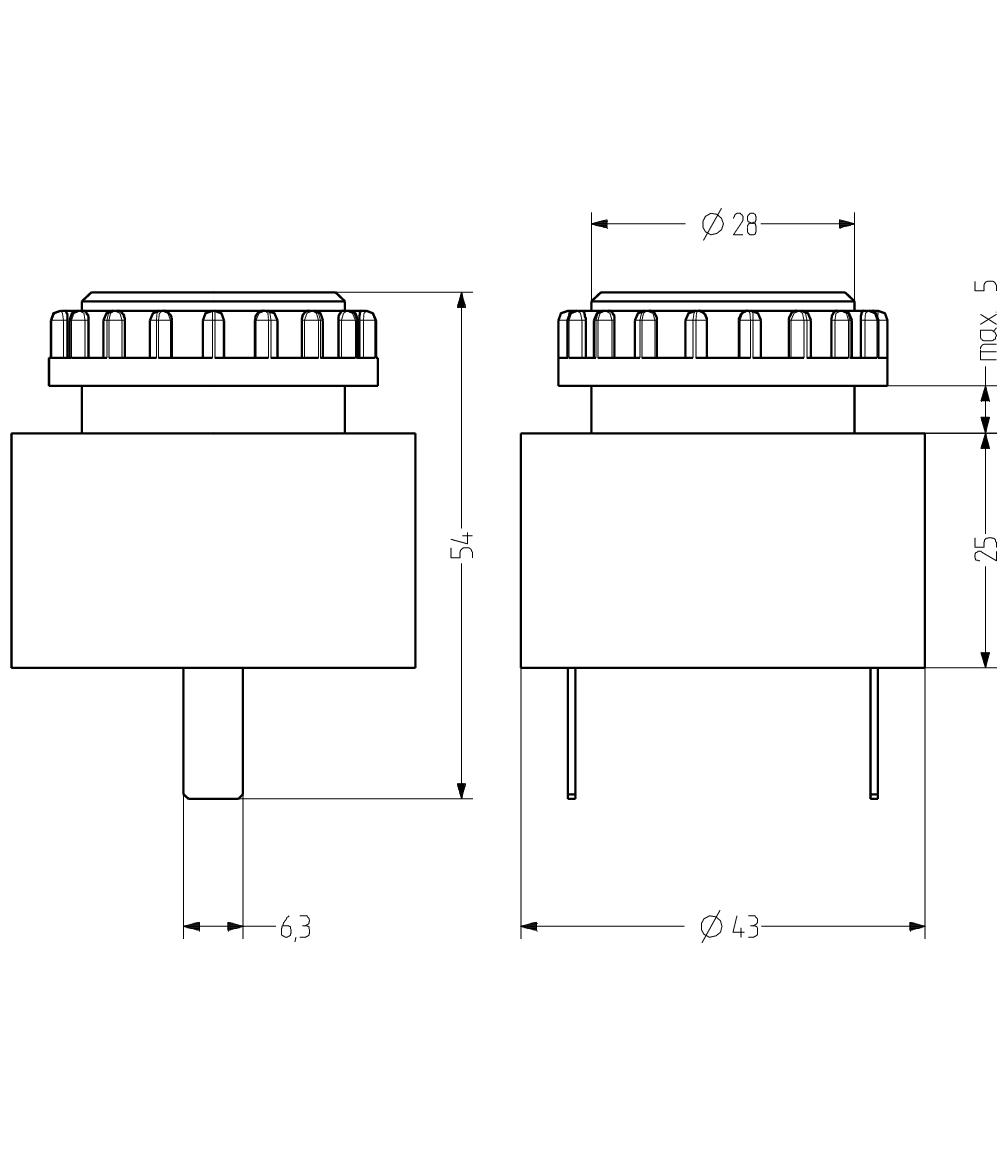 ESP звуковой сигнализатор с креплением на панели