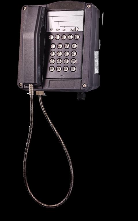 dST-MB взрывозащищенный аналоговый телефон