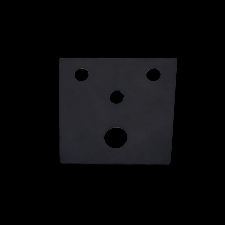 RG2 Плоское уплотнение для крепления дизайнерского кронштейна RWD к стене  Вес - 5 г