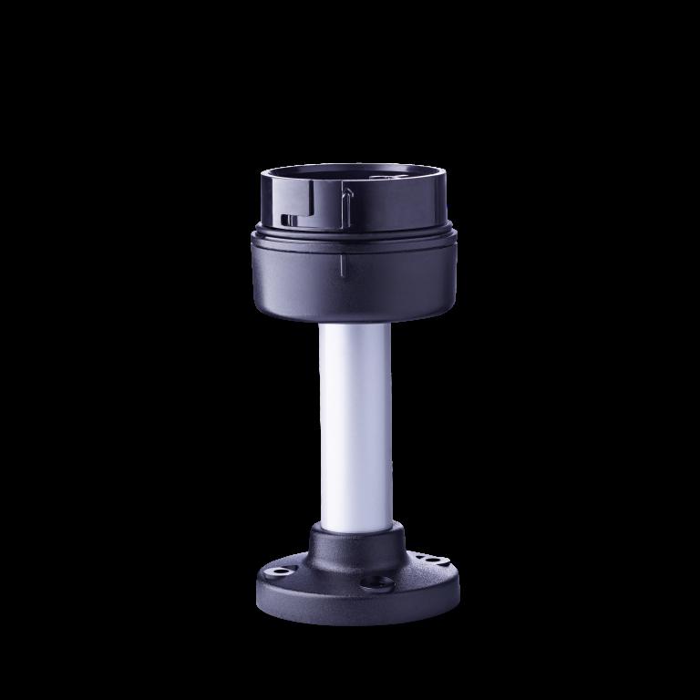 PC7MRОснование трубки из алюминия с пластиковой ножкой 100 мм